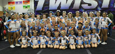 Cheer Madtown Twisters