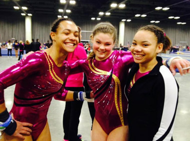 team gymnastics Madison