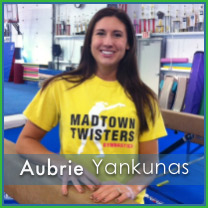 Aubrie Yankunas Manager and Coach