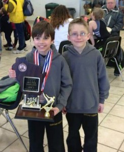 Boys Team Gymnastics award