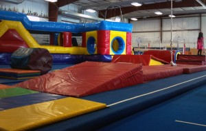 Madtown Twisters Gymnastics WEST inflatables
