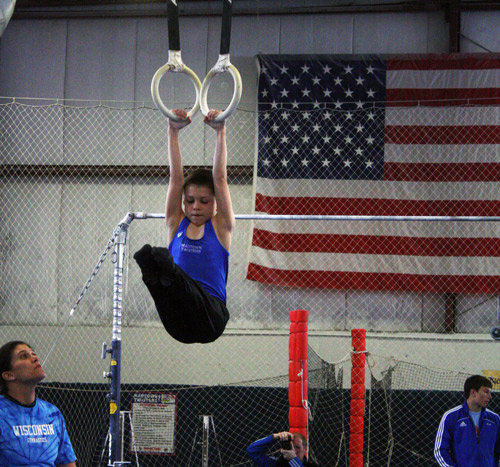 boys gymnastics team Madison WI
