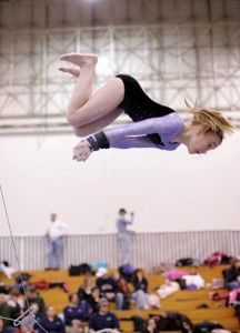 Girls Gymnastics Competition Chicago Meet