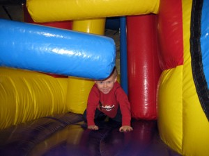 Open Gym for Tots Inflatable