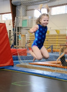 Open Gym Trampoline Gymnastics